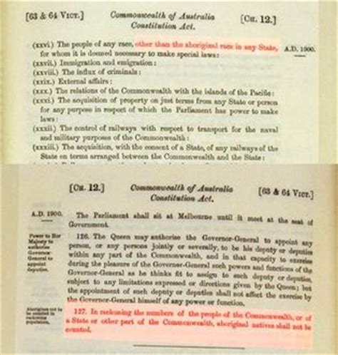 Section 51 Constitution by 1967 Referendum Museum Of Aboriginal