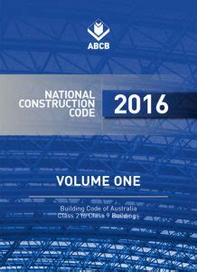 The Living Part One Volume 1 building code of australia new sound insulation rating