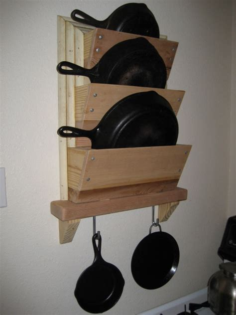 Hanging Skillet Rack Bt Country Times Just Another Site