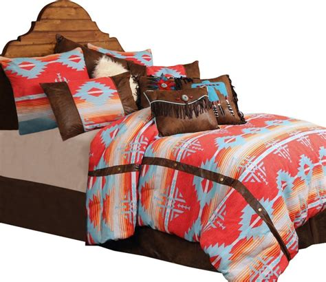 southwestern comforter set red branch southwest bedding set twin southwestern