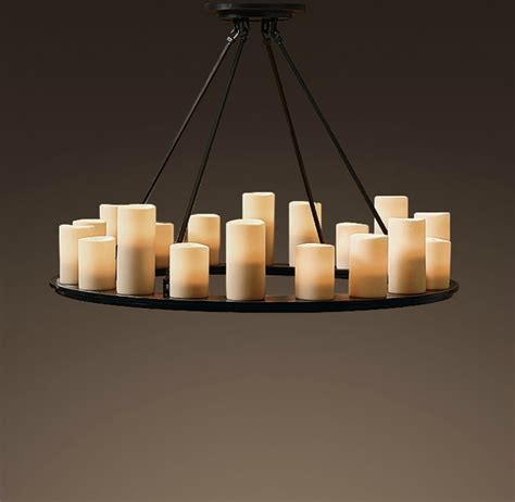 Pillar Candle Chandeliers A Warm Glow Candles Containers And Cozy Accessories