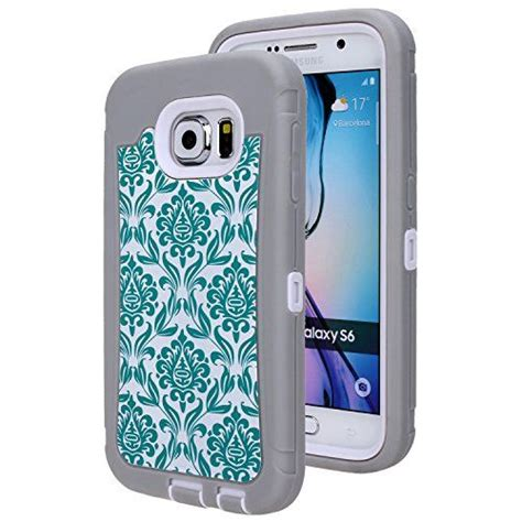 Casing Samsung Galaxy S6 Edge Once Upon A Time Custom s6 galaxy s6 sgm tm hybrid dual layer protection high impact armor defender