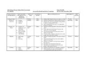 forestry risk assessment template risk assessment template for nursery search