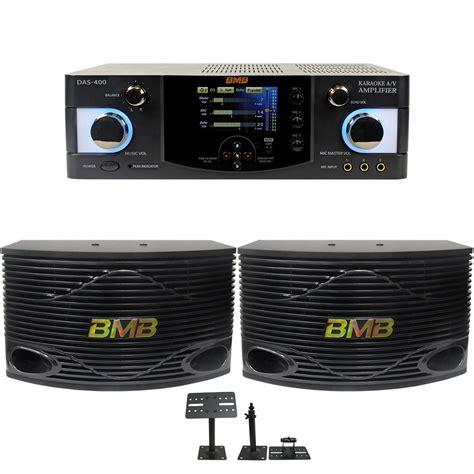 Speaker Karaoke Bmb bmb das 400 lifier csn 500 speaker system 600w max 10 quot w free stands or mounts