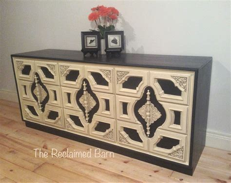 rust oleum chalked ivory  charcoal painted furniture