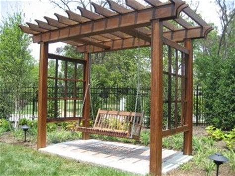 trellis design plans 1000 images about swing grapevine on pinterest