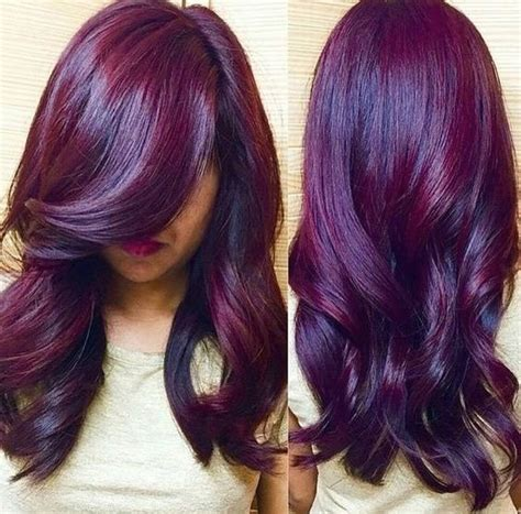 mulberry hair color 35 bold and provocative purple hair color ideas part 6