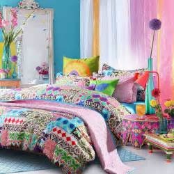 Bohemian Bedding Bedroom Colorful Bohemian Indiana Tribal Print Bedding