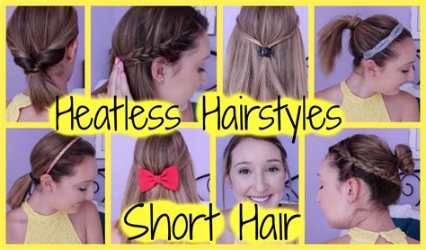 hairstyles for school for short hair short hairstyles cool easy hairstyles for short hair