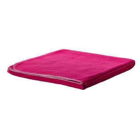 ikea blanket ikea barbro fleece throw blanket afghan bright pink soft