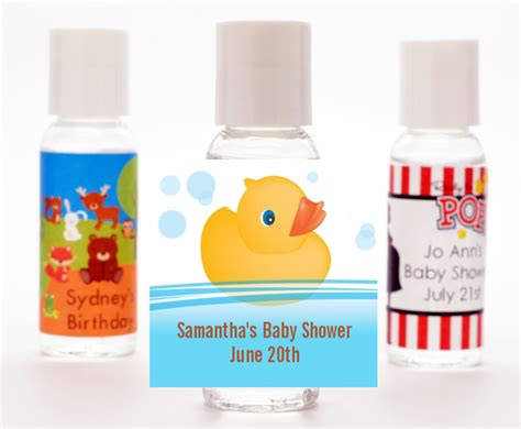 Rubber Ducky Baby Shower Favors by Rubber Ducky Baby Shower Sanitizer Favors