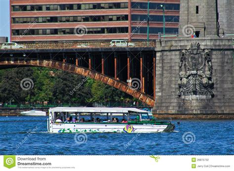 duck boats boston ma duck boat tours boston ma editorial photography image