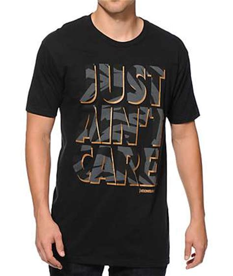 Just Ain T Care T Shirt hoonigan just ain t care t shirt