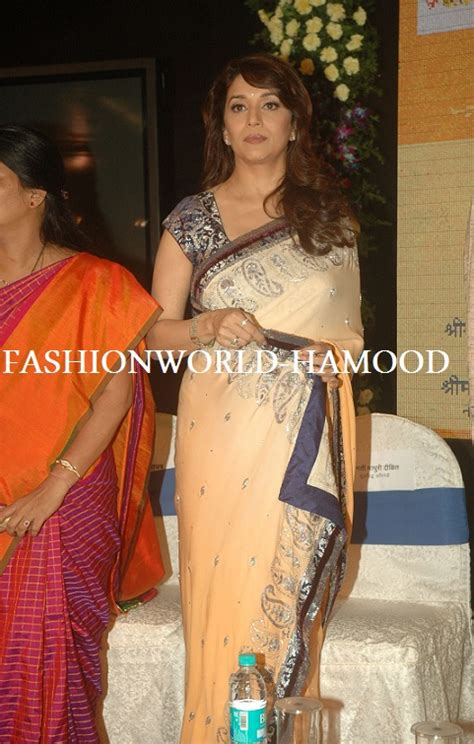 Blouse G Ci madhuri dixit in saree pics 2012 fashion me now