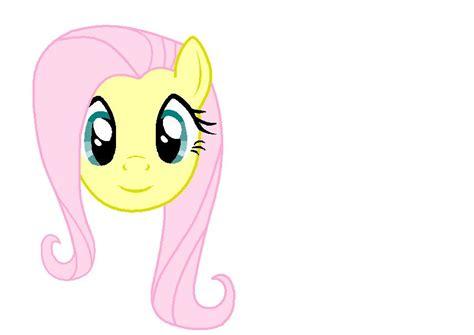 painting my pony fluttershy using windows paint my pony
