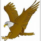 Cartoon Eagles Logos Clipart - Clipart Kid