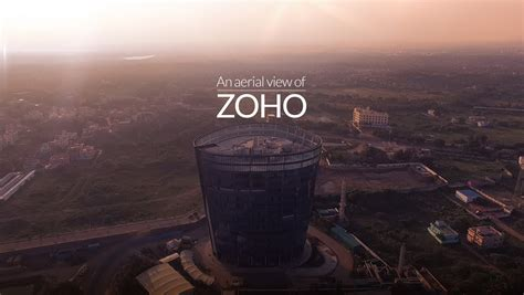 Zoho Search Beyond The An Aerial View Of Zoho