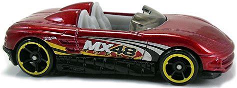Mazda Mx48 Turbo Silver Hotwheels Wheels 2017 mystery models wheels newsletter