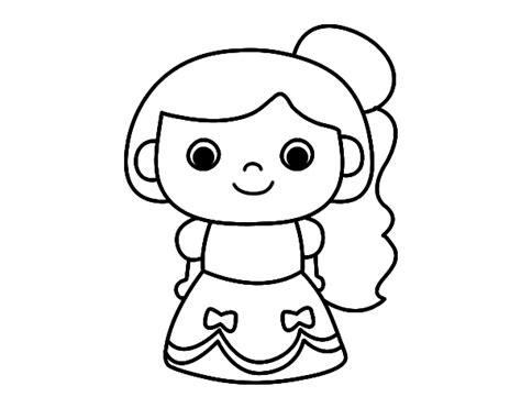 imagenes faciles para dibujar de muñecas dibujos de mu 241 ecas f 225 ciles para dibujar y colorear