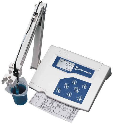 bench top ph meter fisher science education laboratory benchtop ph meters