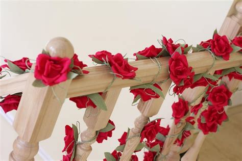 How To Make Paper Garland Decorations - paper garland wedding garland flower garland wedding