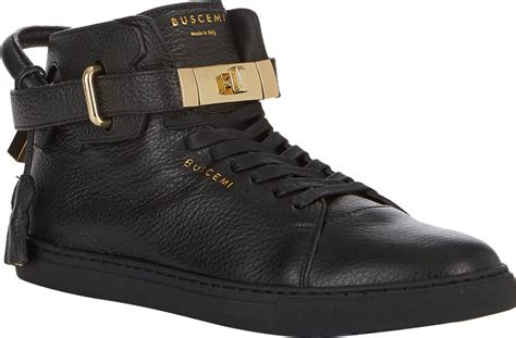 buscemi sneakers mens buscemi 100mm sneakers black size 11 in black for