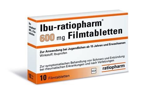 Obat Ibuprofen 600 Mg ibu ratiopharm 174 600 mg filmtabletten ratiopharm gmbh