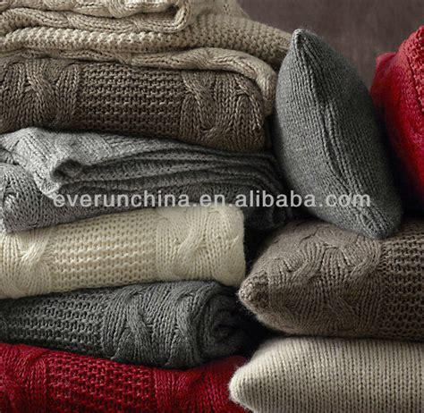 wolle für teppich stricken decke design stricken