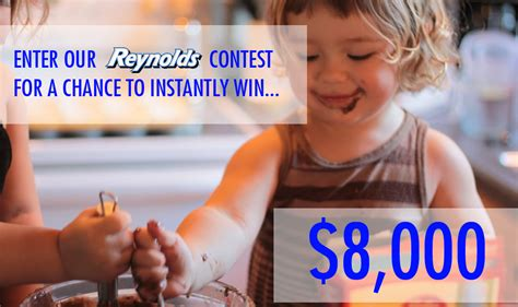 Instant Win Contests - reynolds 8000 instant win contest