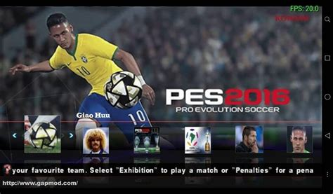 download game android mod pes 2016 pro evolution soccer pes 2016 galaxy v3 iso android gapmod