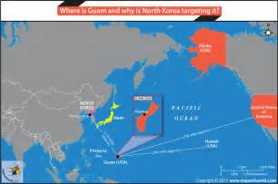 where is guam and why is korea targeting it answers