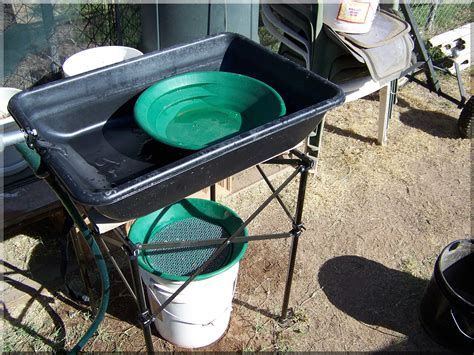 Backyard Gold Panning by Panning In The Backyard Rattle Roll