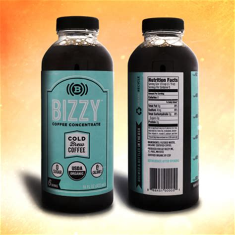 Shelf Of Brewed Coffee by Bizzy Coffee Concentrate Bevnet Product Reviews