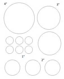 1 Inch Circle Template Free by Free Printable Circle Templates Large And Small Stencils
