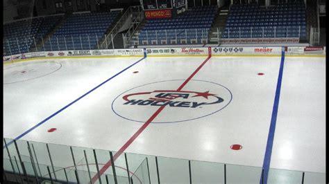 plymouth hockey rink compuware arena transforms into usa hockey arena