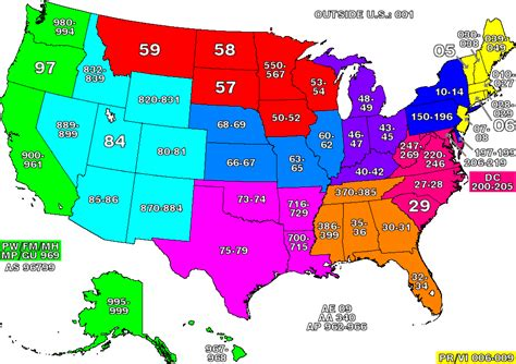 us zip code map united states zip code map mapsof net