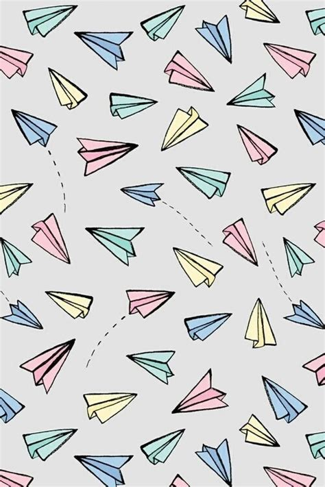 pattern paper airplane patterns image 3946216 by winterkiss on favim com