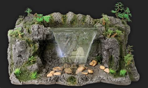 aquarium design waterfall design elements lost world waterfall pure pets com pure