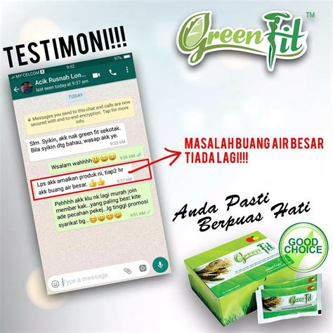 Avail Green Fit 1 Box avail green fit home