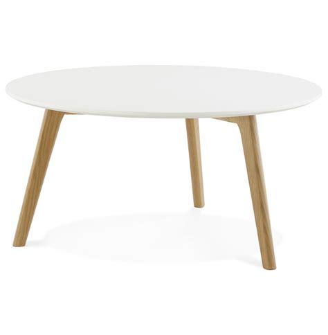 Table De Salon Scandinave by Table Basse De Salon Ronde Kofy Style Scandinave