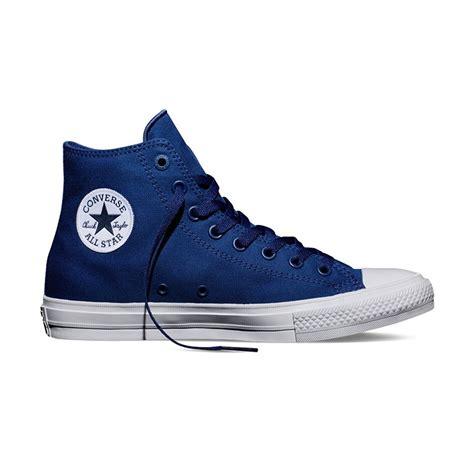 Converse Ghuck Hi Blue chuck all ii hi in sodalite blue converse