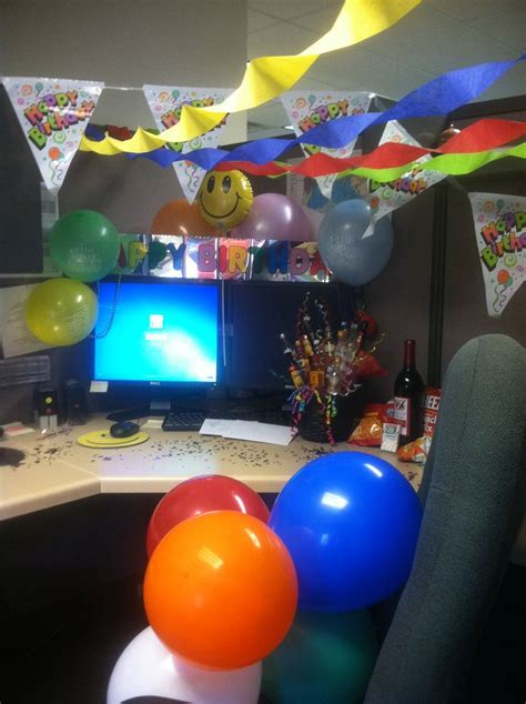 birthday decoration ideas office joy studio design how to decorate an office cubicle for 50th birthday joy
