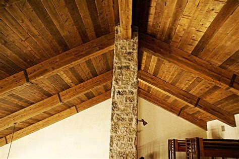 Distressed Wood Ceiling by 17 Best Images About Beams Trusses On Rustic