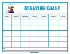 behavior sticker chart template 10 best images of printable behavior chart calendars