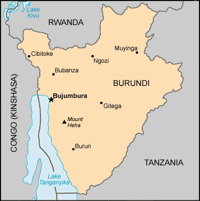 africa map burundi map burundi centre for intercultural learning