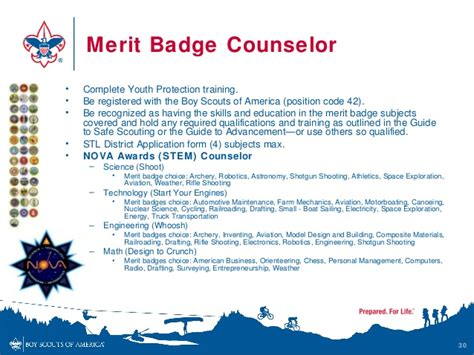 sycamore district merit badge counselors boy scout parents introduction