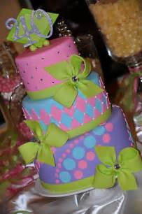designer cakes april colorful 40th birthday cake