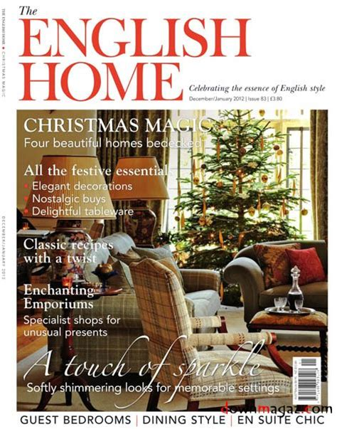english home design magazines the english home december january 2012 187 download pdf magazines magazines commumity