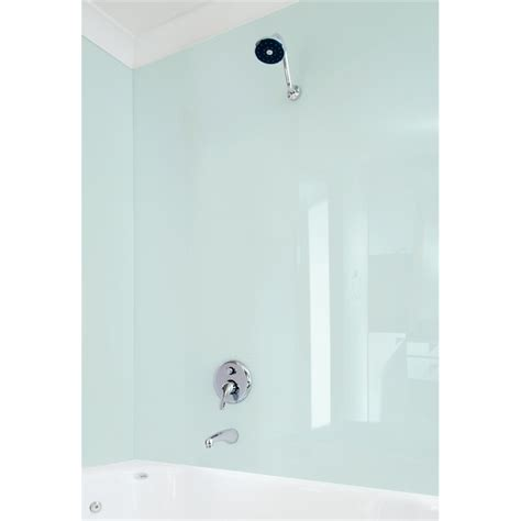 acrylic wall panels for bathrooms vistelle 2440 x 1000 x 4mm mist high gloss acrylic