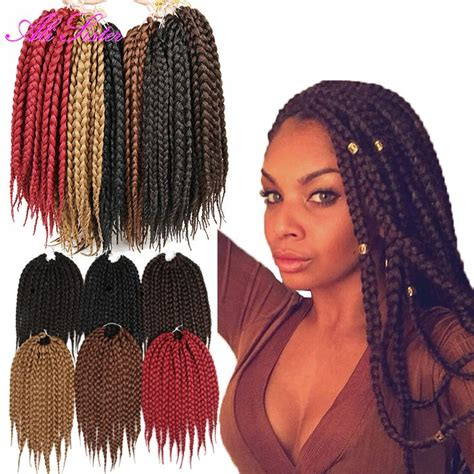 color braids 25 best ideas about colored box braids on